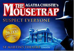 The Mousetrap 26000 performances