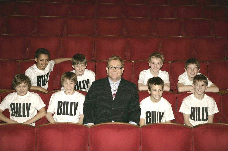 Billy Elliots and Elton John 2007