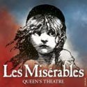 Cast for Les Miserables Queen's Theatre from 15th June 2015