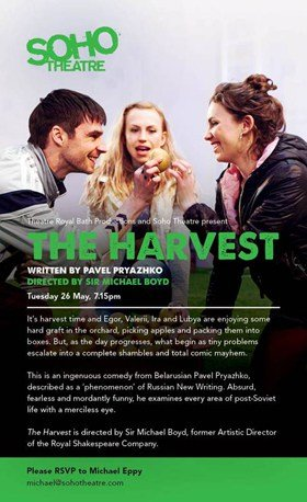 The Harvest at Soho Theatre