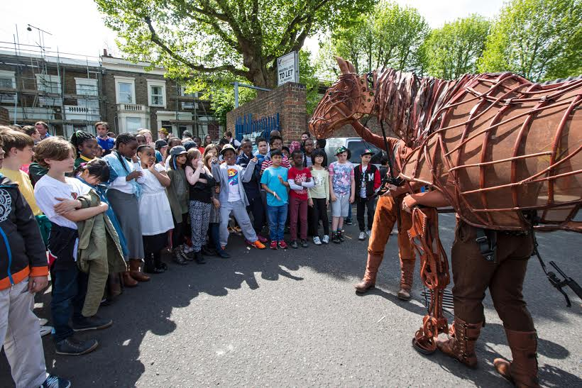 Peckham War Horse project, photo by Vipul Sangoi