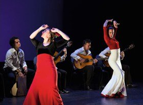 Paco Peña Flamenco Dance Company-Flamencura Photograph by Jeremy Roth
