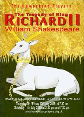 Hampstead Players and The Tragedy of King Richard II