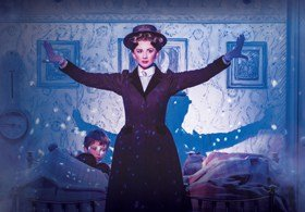 MARY POPPINS - Playing The Game - Zizi Strallen as Mary Poppins.