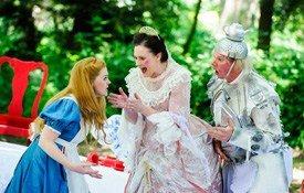 Alice In Wonderland production photo