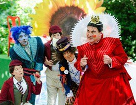 Alice In Wonderland in Holland Park