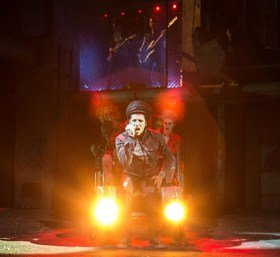 American Idiot Production Photo stage