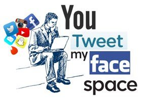 You Tweet My Face Space280