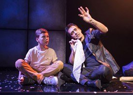 Luis de Matos in Impossible at the Noel Coward Theatre