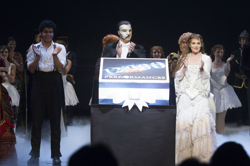 The Phantom of The Opera celebrates 12000 performances
