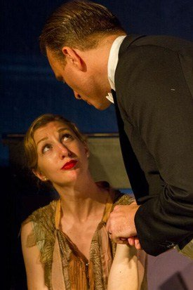 The Better Half, Tracey Pickup as Alice and Stephen Fawkes as David, A Naughty Night with Noel Coward