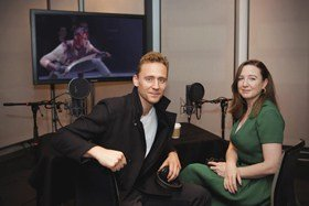 Tom Hiddleston and Josie Rourke