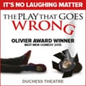 The Play That Goes Wrong Ticket Offer