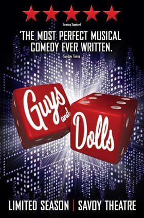 Guys and Dolls Savoy Theatre London