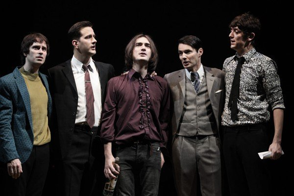 Sunny Afternoon cast at Harold Pinter Theatre