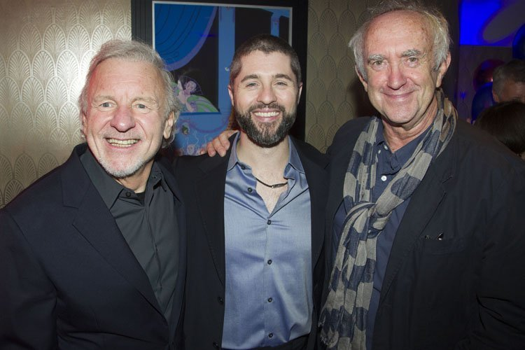 Colm Wilkinson (Jean Valjean), Peter Lockyer (Jean Valjean) and Jonathan Pryce