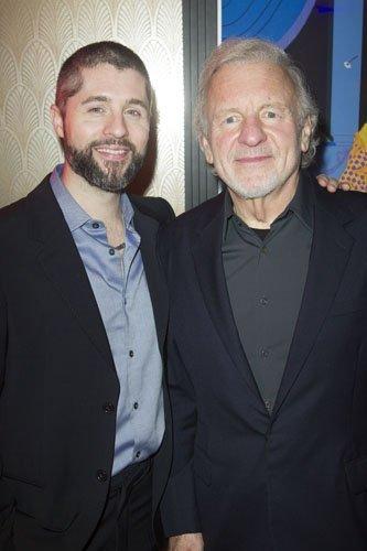 Peter Lockyer (Jean Valjean) and Colm Wilkinson (Jean Valjean)