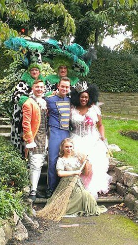 Cast of Cinderella Ashcroft Theatre