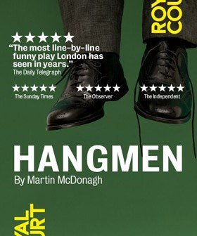 Hangmen at Wyndham's Theatre