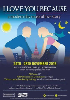 I Love You Because Musical Poster