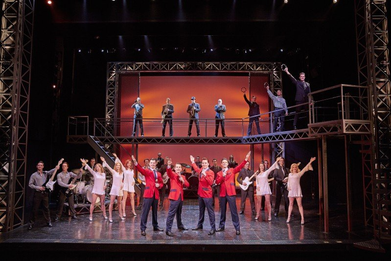 The Cast of Jersey Boys London - Photo by Brinkhoff & Mögenburg