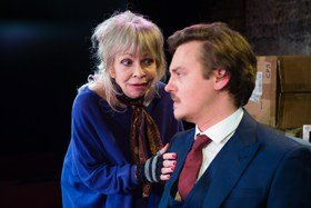 Katy Manning and Tristan Beint, Nobody's Business, King's Head Theatre (c) Chris Tribble