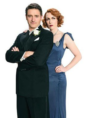 Private Lives UK Tour Tom Chambers, Laura Rogers.