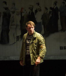 Matthew Seadon-Young (Tony) in Billy Elliot the Musical at the Victoria Palace Theatre. Photo by Alastair Muir