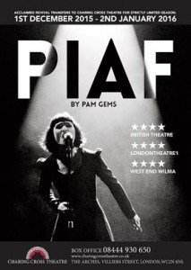 Pam Gems Piaf Poster
