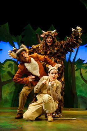 Gruffalo 2015 Ellie Bell, Timothy Richey & Owen Guerin (as The Gruffalo)