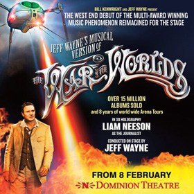 The War of the Worlds at Dominion Theatre