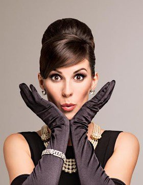 Verity Rushworth as Holly Golightly