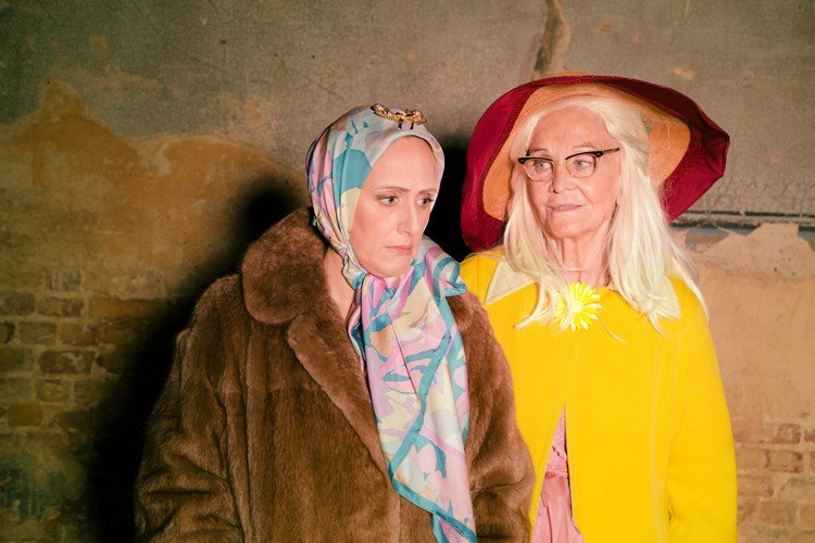 Grey Gardens Sheila Hancock and Jenna Russell