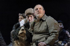 David Troughton and Elisa de Grey in Goodnight Mister Tom 2015