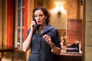 Emma Deegan as Mollie Ralston in The Mousetrap