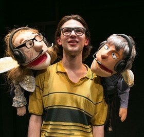 Rapunzel - Alex Hope as 'Prince Corbyn' <br/> Photo by Darren Bell