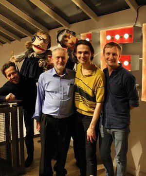 Park Theatre - Jez Bond, Fairy Jane & Fairy John, Jeremy Corbyn, Alex Hope, John-Jackson Almond