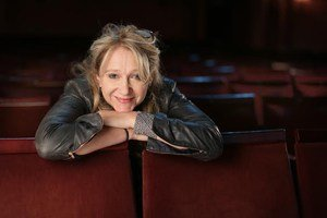 Theatre producer, Sonia Friedman, pictured at the Duke of York Theatre, London.