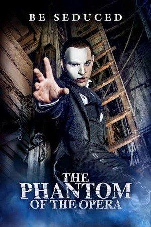 Ben Forster as The Phantom in The Phantom Of The Opera.