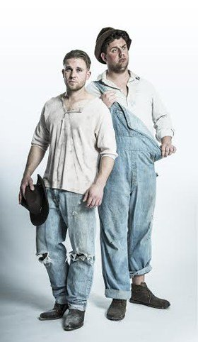 Of Mice and Men - William Rodell as 'George' & Kristian Phillips as 'Lennie'
