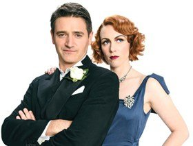 Tom Chambers and Laura Roberts Private Lives.