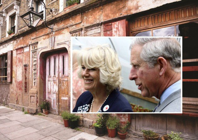 Charles and Camilla visit Wilton's Music Hall - Image courtesy of The Docklands and East London Advertiser