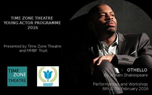 Zone Theatre Time Zone Theatre Young Actor Programme