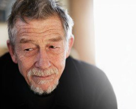 John Hurt who will star in The Entertainer