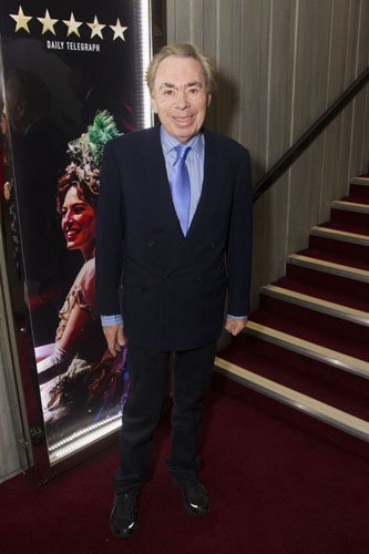 Andrew Lloyd Webber - Photo Credit Dan Wooller