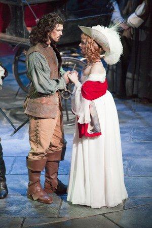 Marc Rhys (Christian) & Sara Lloyd-Gregory (Roxane)