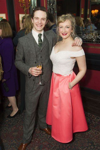 Danny Collins (Frank Schultz) and Alex Young (Ellie May Chipley)