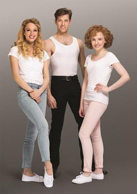 Dirty Dancing UK tour 2016 - Carlie Milner, Lewis Griffiths, Katie Hartland