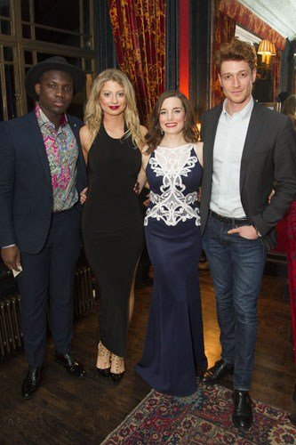 Emmanuel Kojo (Joe), Elisha Slater, Rebecca Trehearn (Julia La Verne) and Daniel Donskoy