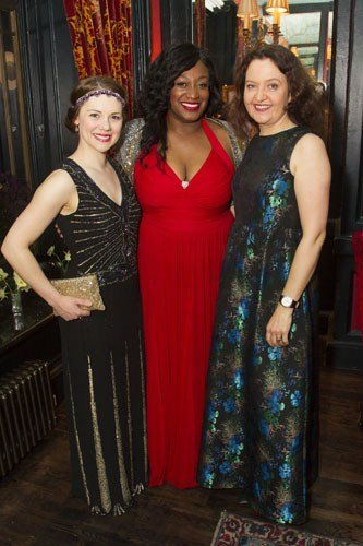 Gina Beck (Magnolia Hawks), Sandra Marvin (Queenie) and Lucy Briers (Parthy Ann Hawks)